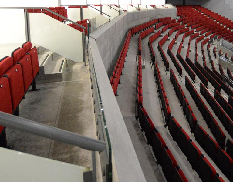 Leeds Arena: Seating Installation for Populous / BAM ...