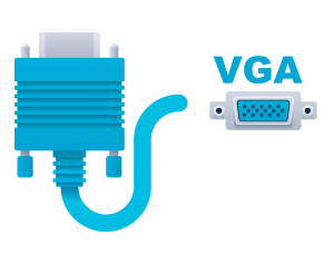 connecting a laptop to a tv VGA Connection