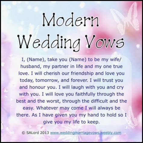 Others: Beautiful Wedding Vows Samples Ideas ? Salondegas.com