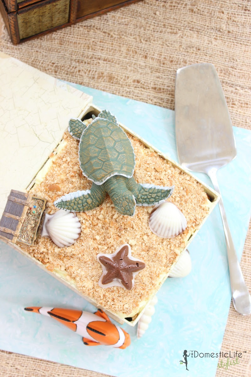Easy Earth Day Beach Cake - The Domestic Life Stylist - HMLP 83 - Feature