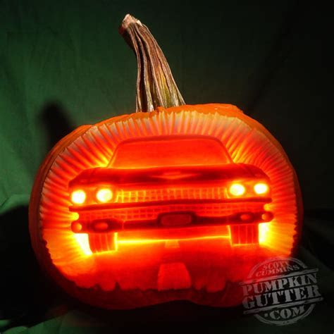 Some Really Cool Car Inspired Halloween Pumpkins   V12 ? Auto123.com Video Blog