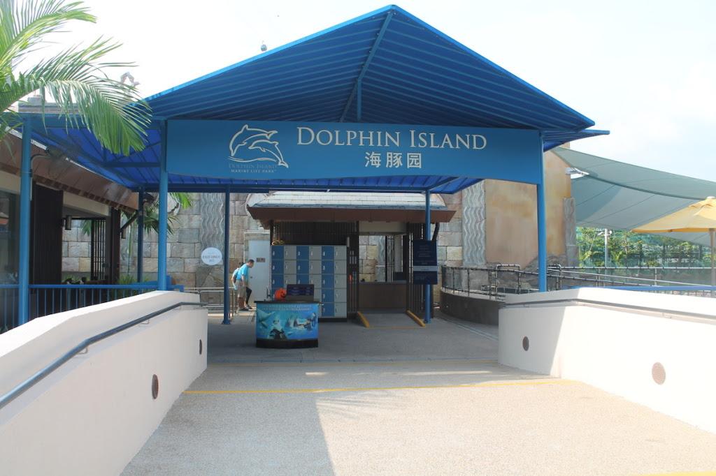 Dolphin Island Entrance Singapore