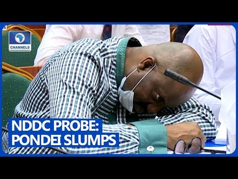 DRAMA!!! NDDC MD, Pondei, 'Faints' During Reps Committee Interrogation