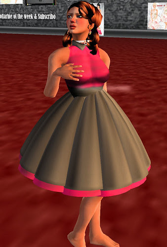 60L Sunday AV VLODOVIC Store pink girkly dress