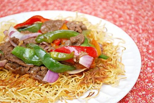 Spicy Beef & Pepper Stir Fry
