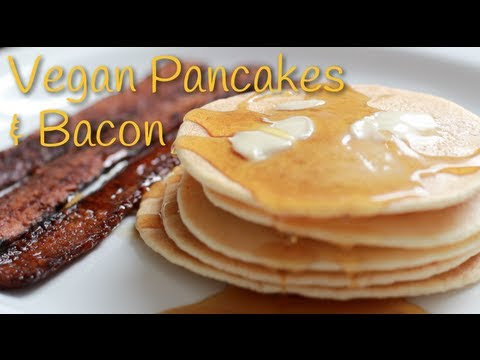 how to make pancakes without eggs and milk