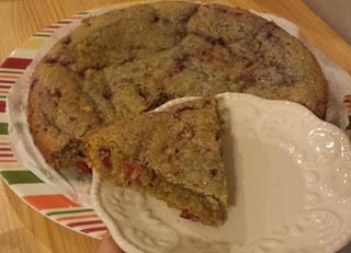 Lemon-Raspberry Sour Cream Cake