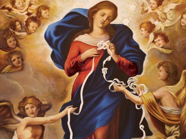Oração a Nossa Senhora Desatadora de Nós