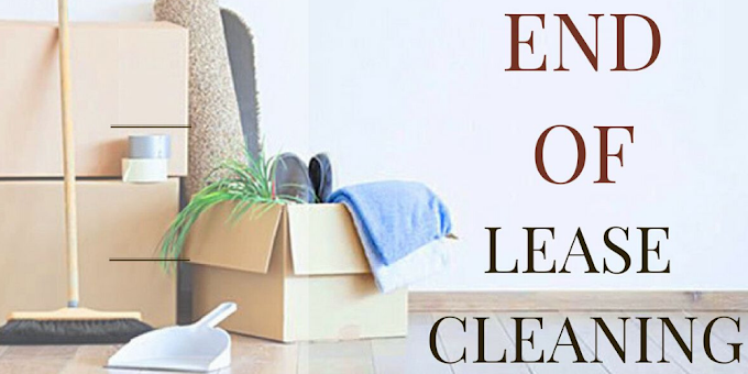 End of Lease Cleaning - A Unique Need