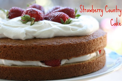 Food Librarian - Barefoot Contessa Strawberry Country Cake