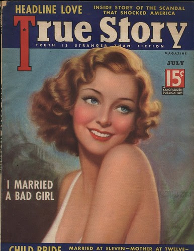 July 1937, True Story Magazine