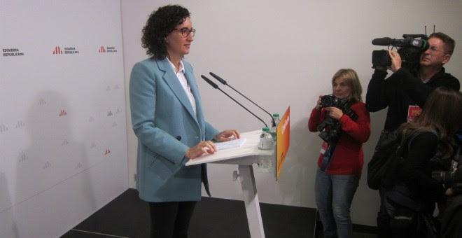 La secretaria general de ERC, Marta Rovira./ EUROPA PRESS