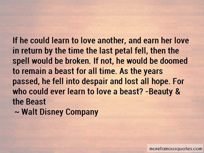 Beauty And Beast Love Quotes Top 9 Quotes About Beauty And Beast