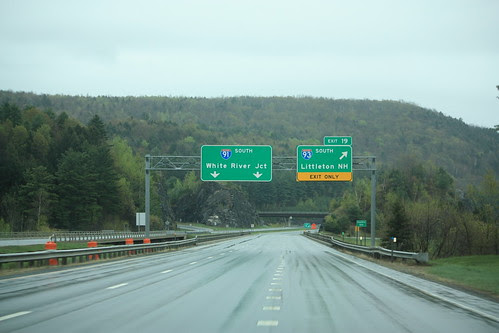 Beginning of Interstate 93 South
