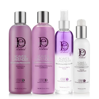De Pro Series Sts Express Smoothing System Vs Agave Lavender