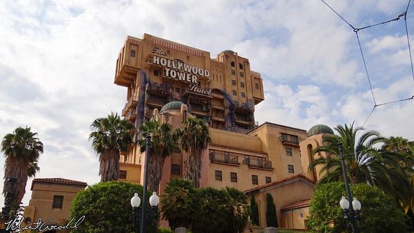 Disneyland Resort, Disney California Adventure, Twilight Zone Tower of Terror
