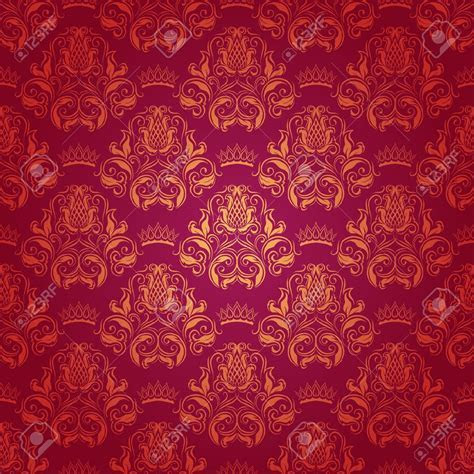 Photo Collection Royal Red Wallpaper