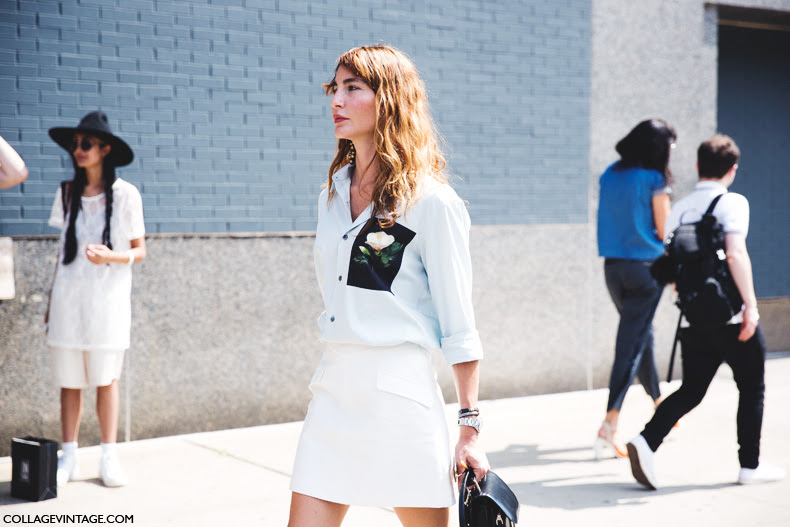 New_York_Fashion_Week_Spring_Summer_15-NYFW-Street_Style-Ece_Sukan-White_Skirt-Black_Boots-4