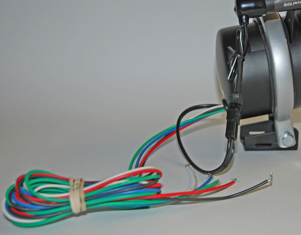 Auto Meter Motorcycle Tach Pro Wiring