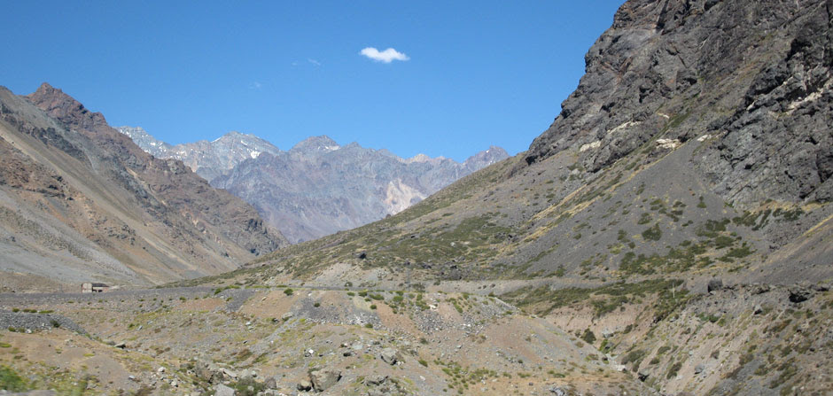 Andes central Chile