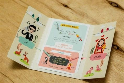 The most unique Indian Wedding Invitation Cards