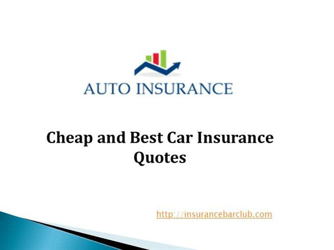 Professional And Best Car Insurance Quotes |authorSTREAM