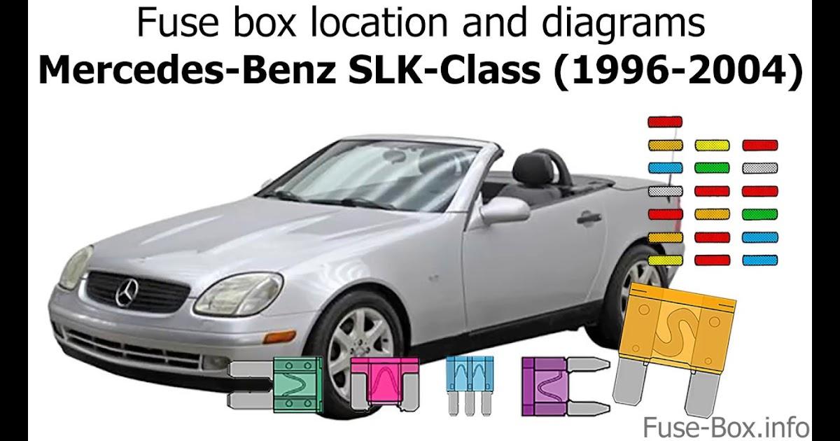 Mercede Slk 32 2002 Fuse Diagram