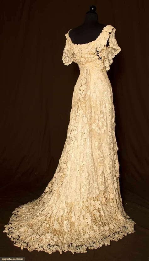 Vintage Hand Crochet Wedding Dress     Wedding Ideas