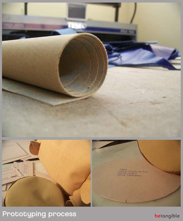 prototypig proceso de dos prototipos y muestras ... Una fase clave para los diseñadores de accesorios de cuero