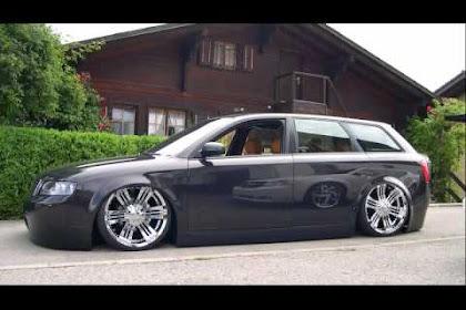 Audi A4 B6 Avant Schwarz Tuning