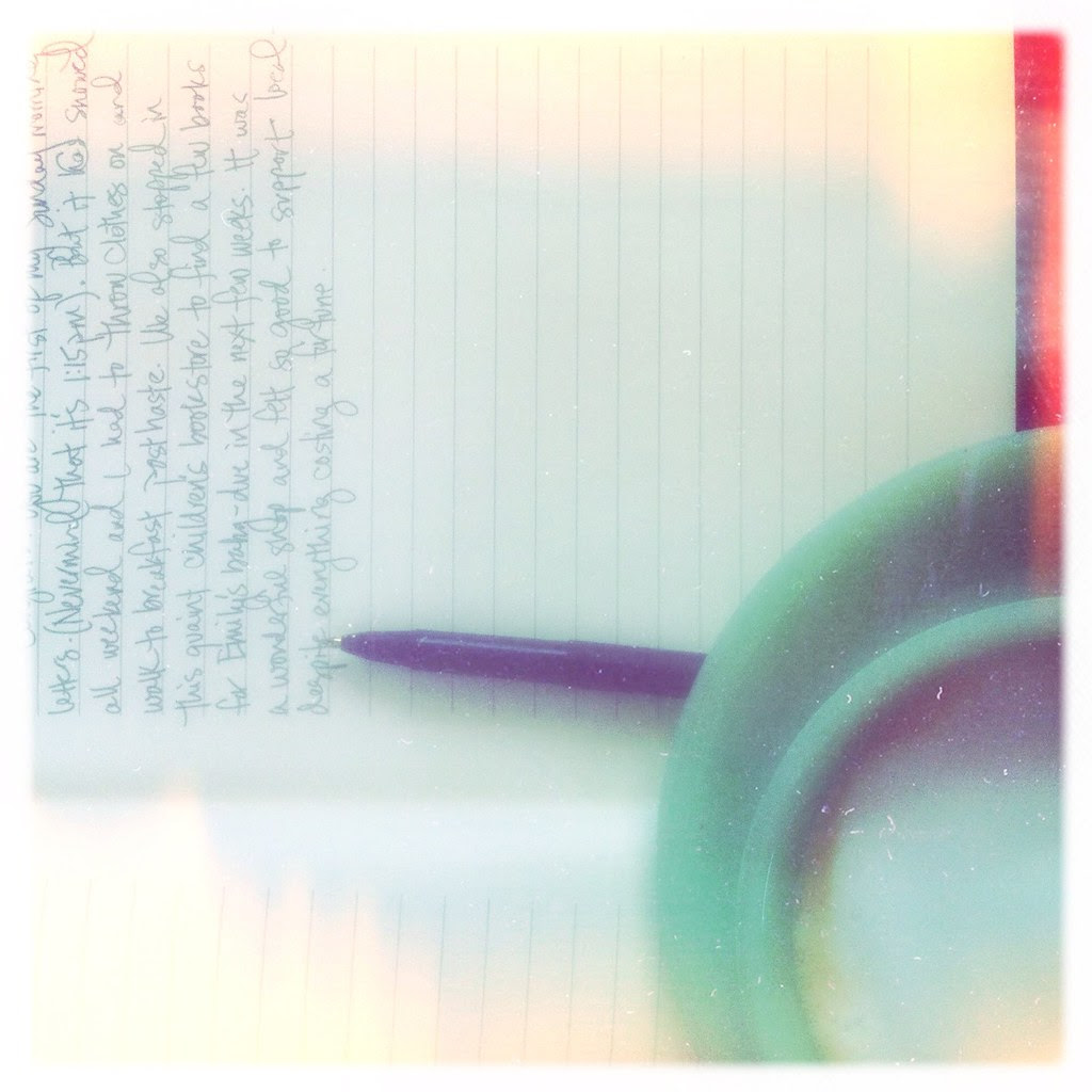 Sunday Morning Letters