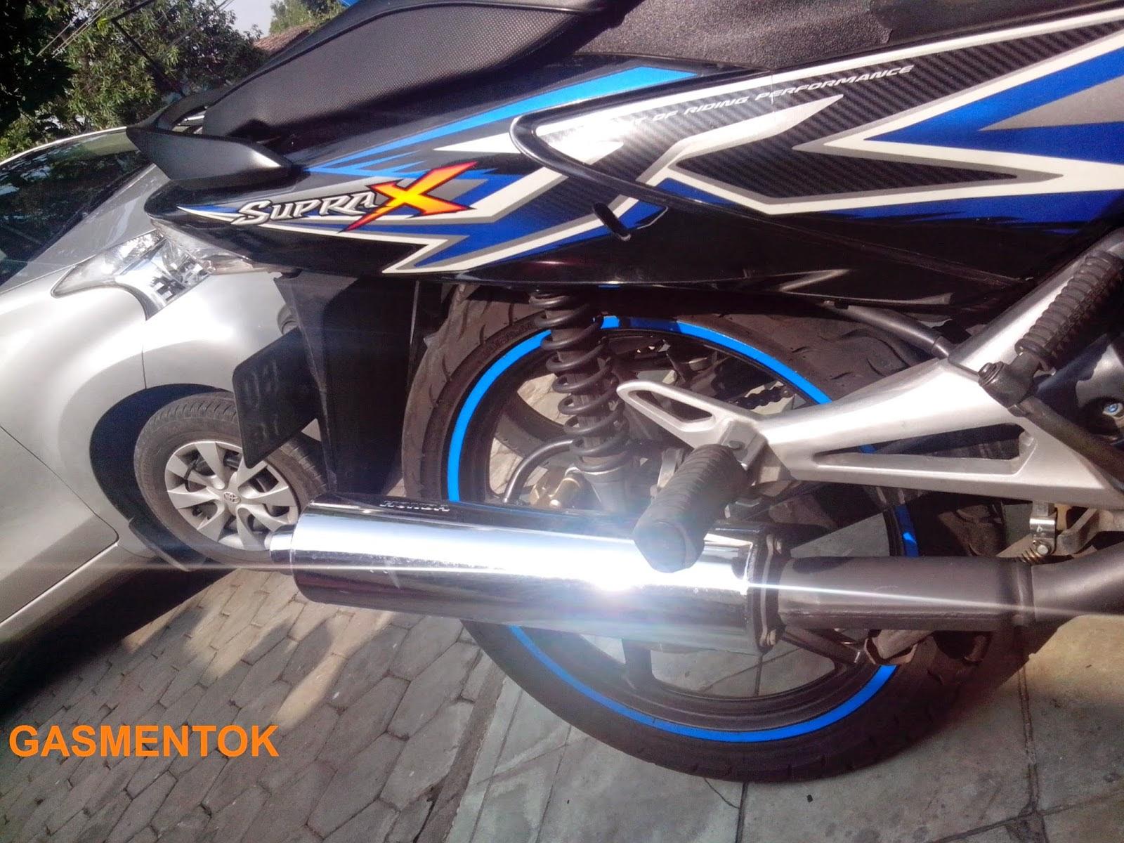 Kumpulan Foto Modif Motor Supra X 125 R Tahun 2015 Terlengkap