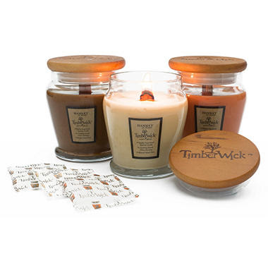 TimberWick Candles - Fall Fragrance Collection (9.25 oz ...