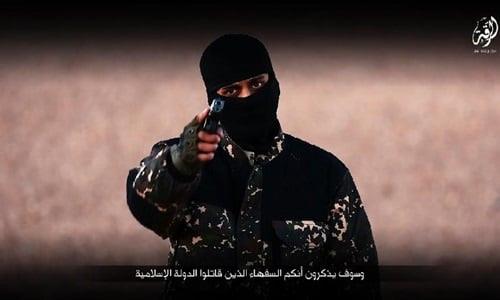 Hình ảnh IS tung video hành quyết, gọi Thủ tướng Anh là nô lệ của Nhà Trắng số 1