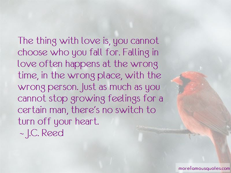 Quotes About Falling In Love With The Wrong Person Top 7 Falling In