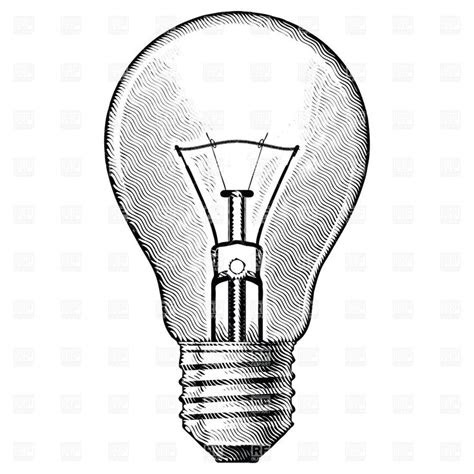 vintage light bulb drawing google search tattoos