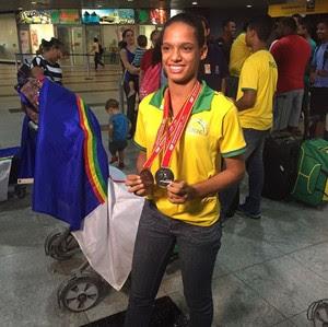 Janaína Santos, Ouricuri, atletismo (Foto: Janaína Santos / arquivo pessoal)