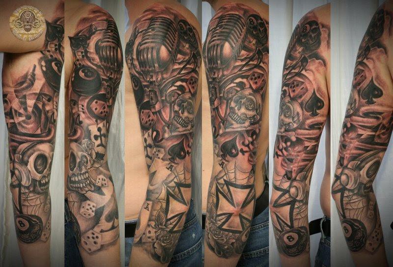 Tribal Tatto Tribal Tattoo Arm Mann