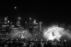Singapore - Light and water show