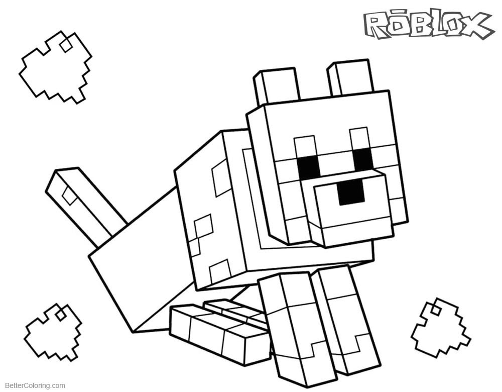 Free Roblox Coloring Pages at GetDrawings | Free download