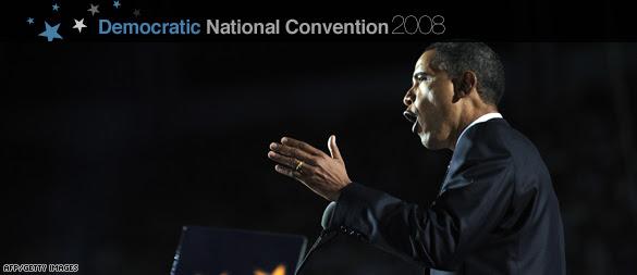 Democratic National Convention '08 - Barack Obama