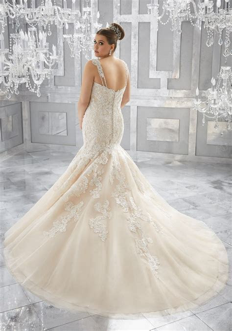 Mori Lee ? Julietta Plus Size Wedding Dresses   Deer Pearl