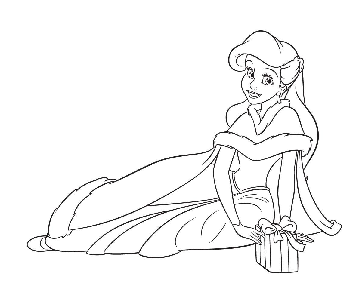 Dibujos Para Colorear Princesas Disney Los Diseños Más Bonitos