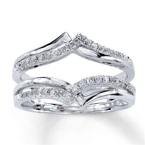 Diamond Enhancer Ring   you put your engagement ring in