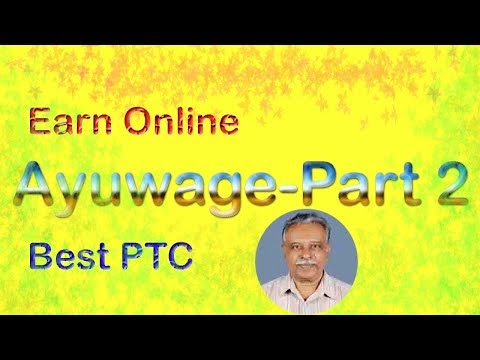 Earning online   Ayuwage  2