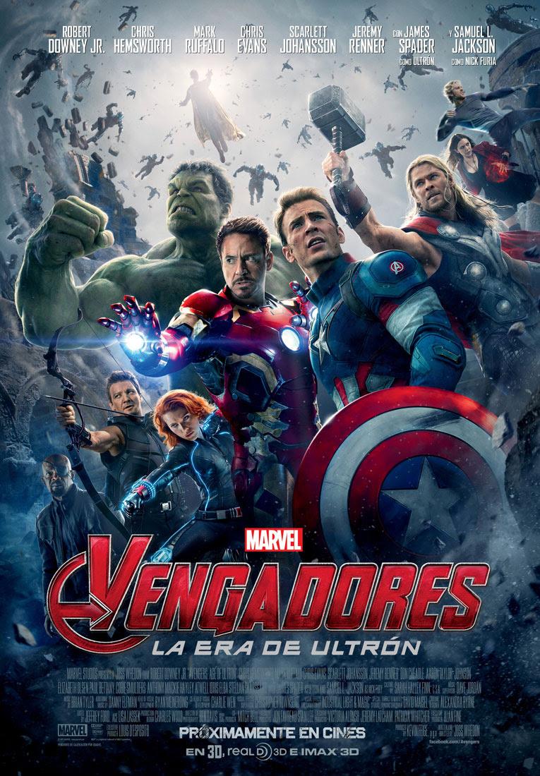 póster de la película Los vengadores: la era de Ultron