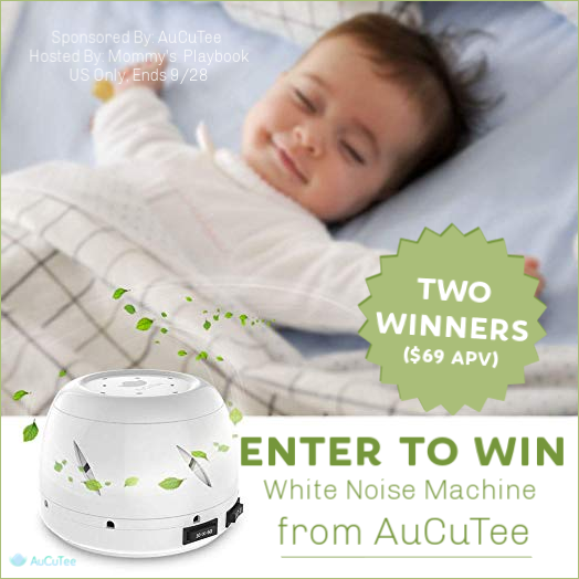 Enter to win a AuCuTee White Noise Machine