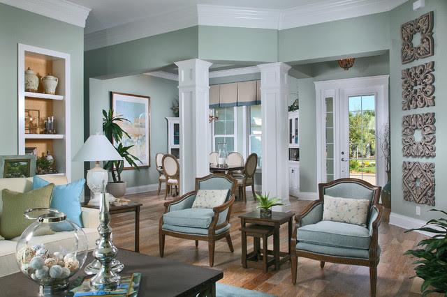 The Laurel Cottage Coastal Design - tropical - living room - other