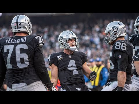 Gruden happy with Carr after Raiders pull off upset against Steelers