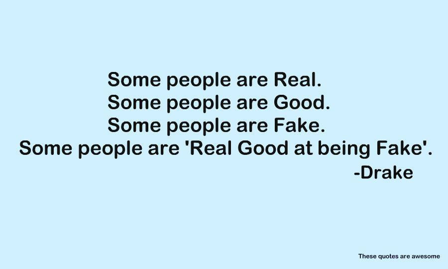 Quotes About Fake Girls 55 Quotes
